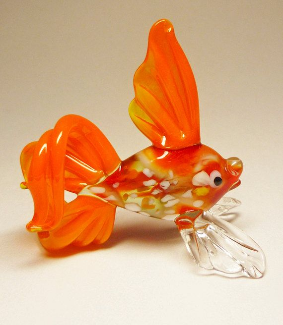 Fish Glass Art Figurine
