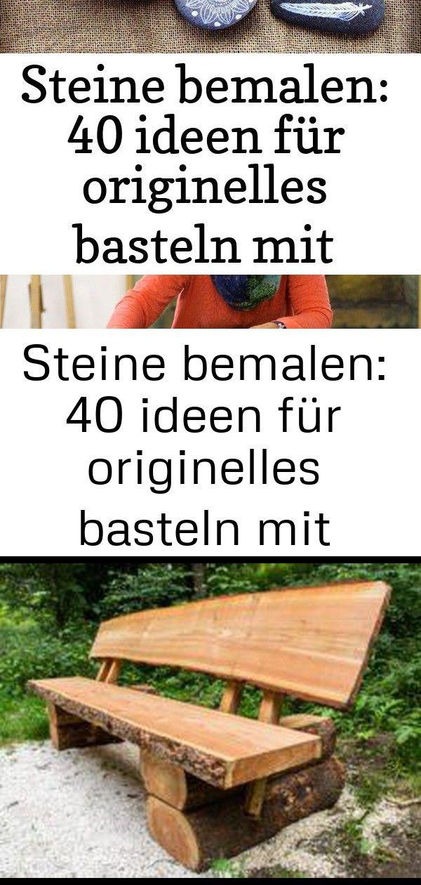 Steine bemalen: 40 ideen für originelles basteln mit steinen 2 8 #steinebemalenanleitung