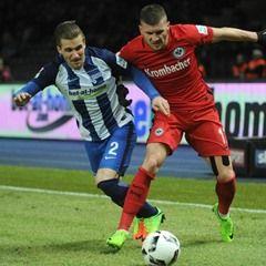 Bundesliga - Matchday 22 - Hertha BSC vs Eintracht Frankfurt