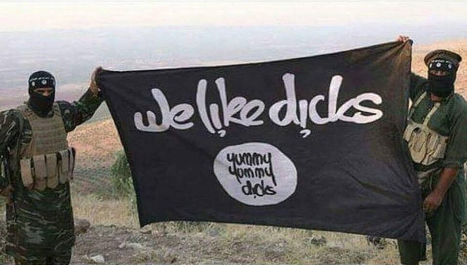 The ISIS flag has been translated.