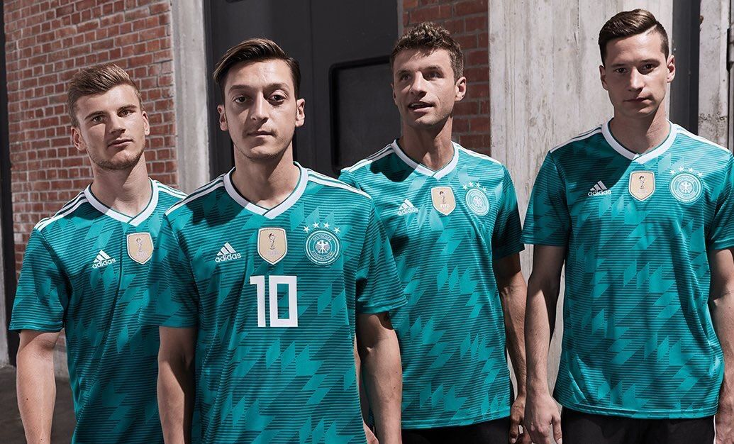 Germany 2018 Fifa World Cup Away Kit Germany Football Germany National Football Team Soccer Shirts