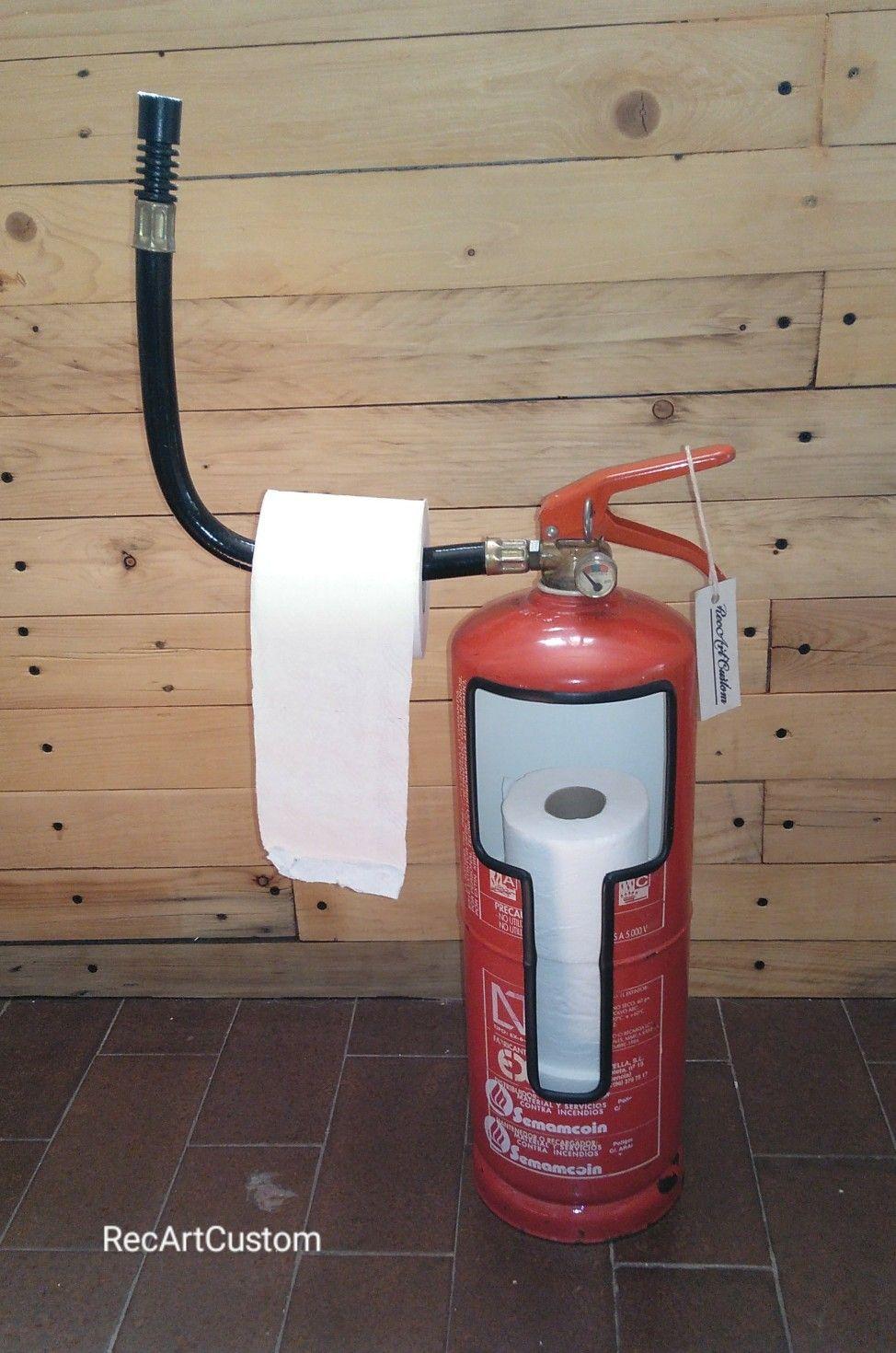 Porta Papel Higiénico Industrial Extintor Porta Rollos Vintage En 2020 Extintor De Incendios Papel Higienico Industrial Extintor