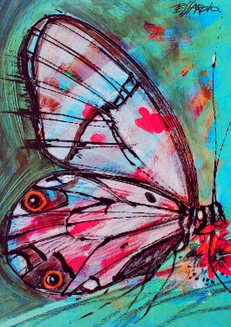 Cuadros de mariposas modernos buscar con google - Cuadros modernos ...
