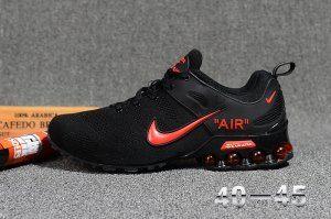 6e594b7239f Nike Air VaporMax 2018. 5 Flyknit Men's Running Shoes Black/Red ...