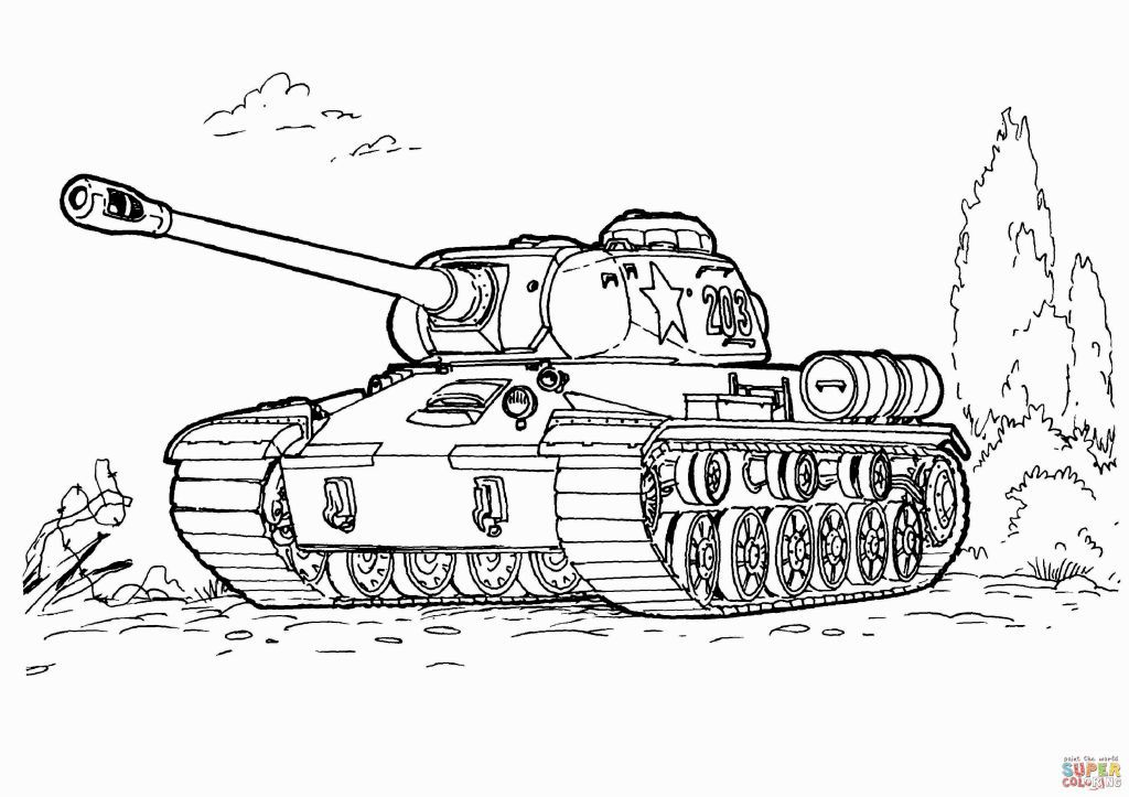 Army Tank Coloring Page Coloring Books Abc Coloring Pages