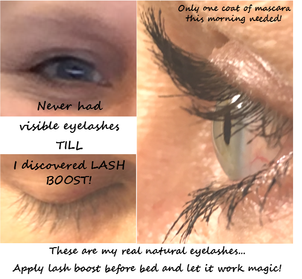 All Mine All Natural I Finally Have Thick Long Eyelashes That Only