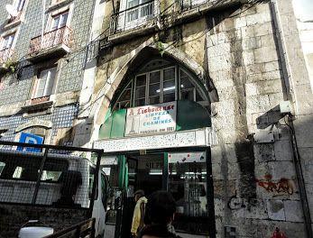 Lisboa, Portugal. Casa do Largo do Poço do Borratém ou Casa de João das Regras, Rua do Poço do Borratém, nº 25 (à Mouraria).