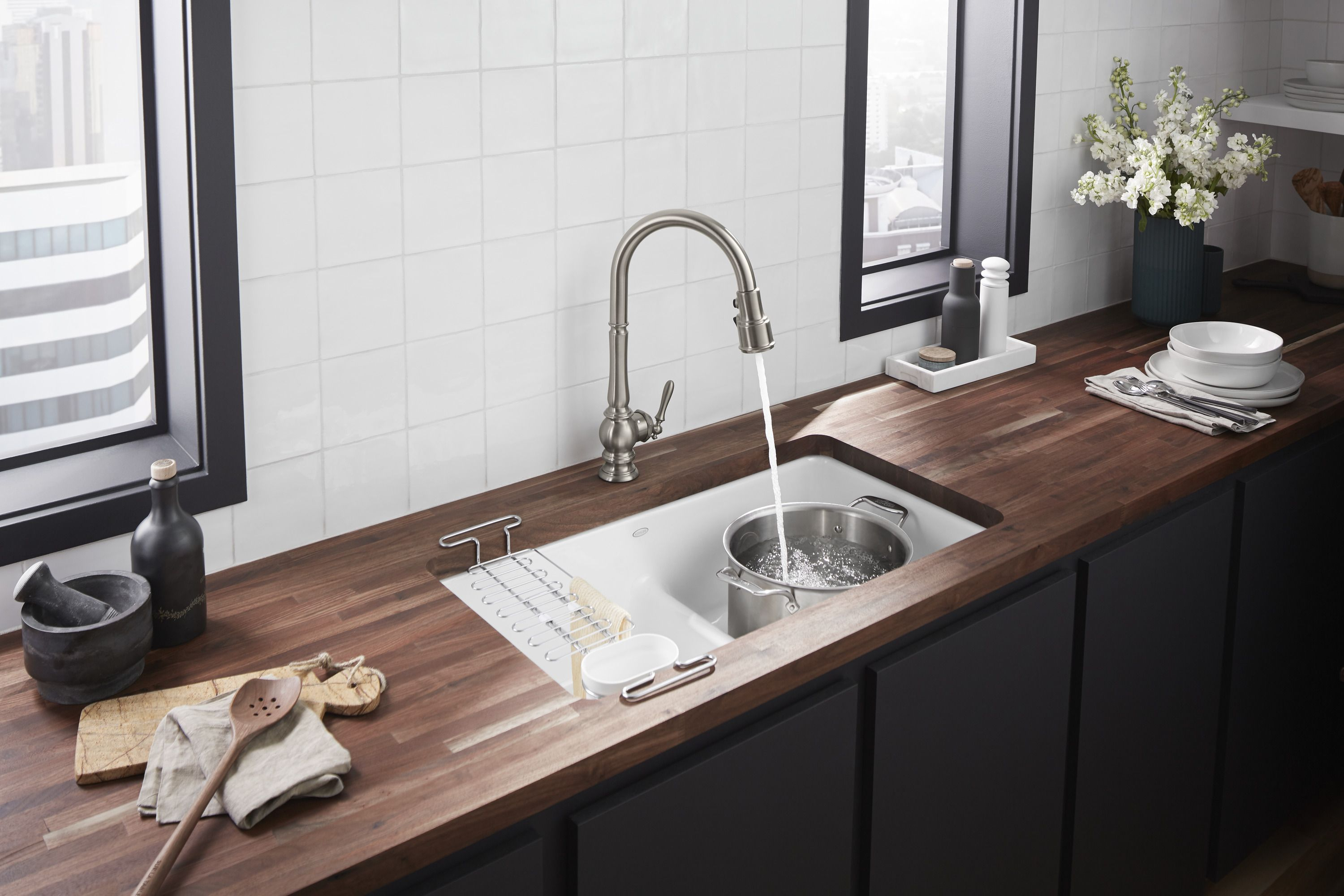 Artifacts Touchless Kitchen Faucet With Kohler Konnect Touchless Kitchen Faucet Kitchen Faucet Touchless Faucet