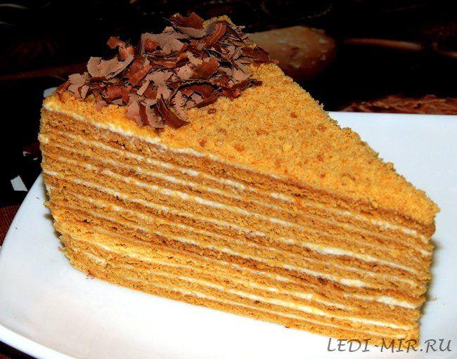 торт мидовик рецепт