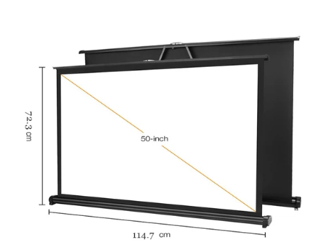 50 Inch Portable Projection Screen Projector Screen Projection Screen Screen
