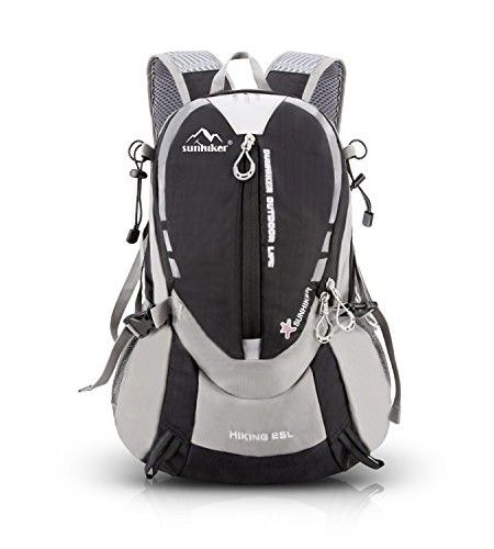 7a35d6a360 Sunhiker M441 Hiking Backpack Sports Outdoor Cycling Backpack Bag Running  Camping Backpack Water Resistant Lightweight SMALL Daypack 25L