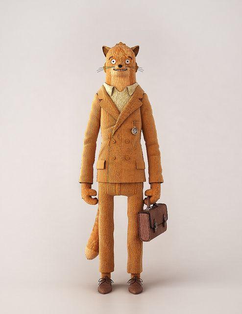 Fantastic Mr. Fox toy created by Beth Algieri and Jonny Plummer