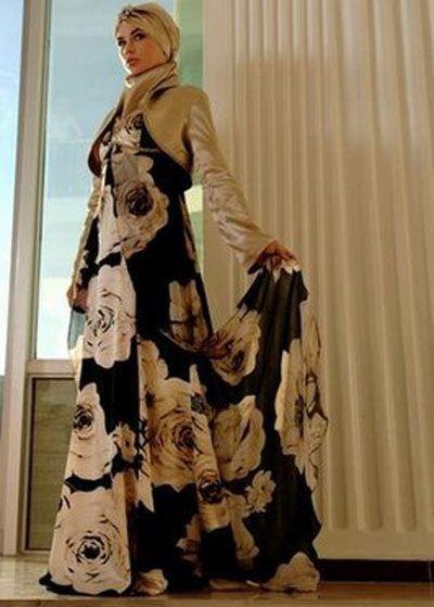 عبايات تركيه 2014 اجمل عبايات تركيه 2014 Turkish Abaya 2014 Evening Dress Fashion Fashion Hijabi Fashion