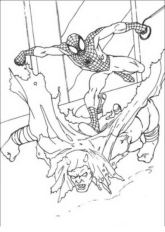 spiderman 21 ausmalbilder für kinder malvorlagen zum