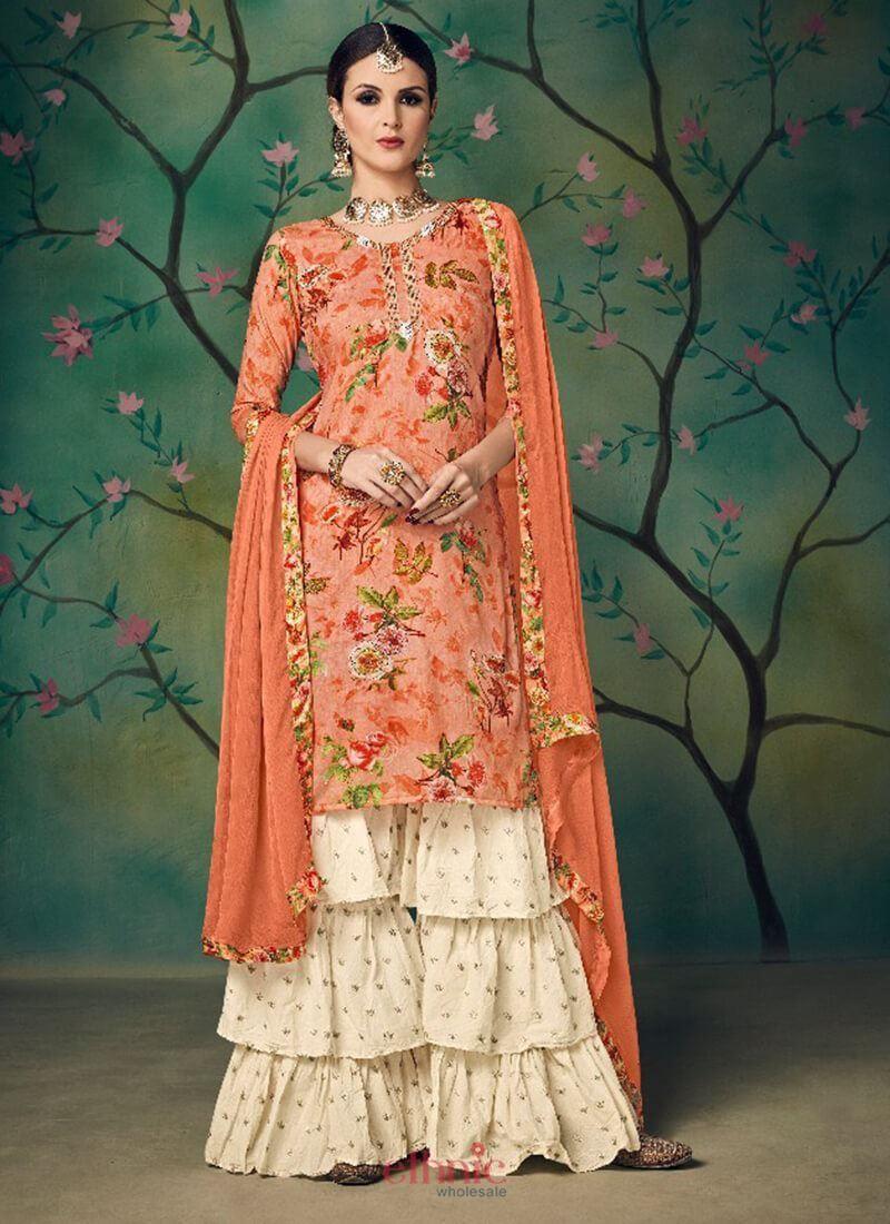 e93ba90392 Related image Salwar Dress, Sharara Suit, Salwar Suits, Salwar Kameez,  Kurti,