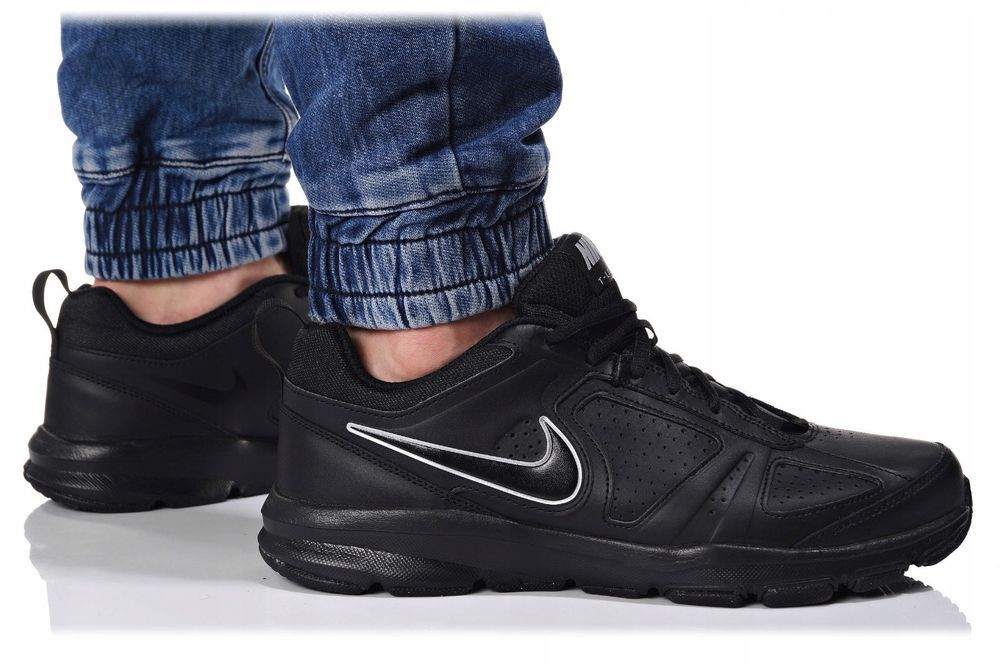 Nike T Lite XI 616544 007 HERREN SNEAKERS TURNSCHUHE SCHWARZ