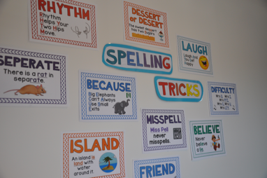 Mnemonics Spelling Tricks and Posters Spelling