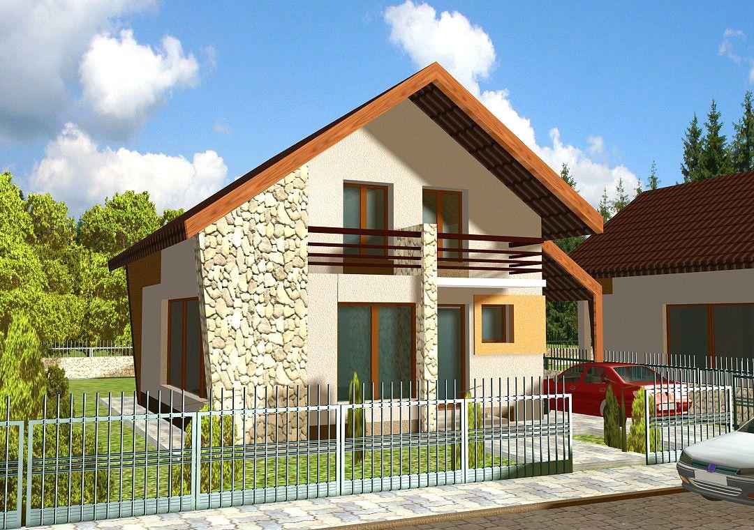 Proiecte Case Mici Proiect Casa Cernica V4 Con Proiecte De Case Mici Cu Garaj E Proiectcasa Cernica V4 Proiecte De Case Natural Homes House Styles House Design