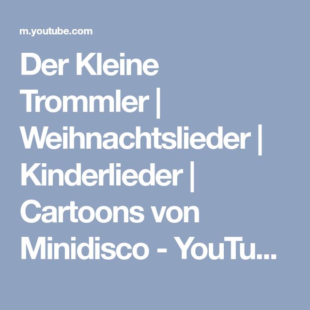 Der Kleine Trommler   Weihnachtslieder   Kinderlieder   Cartoons von ...