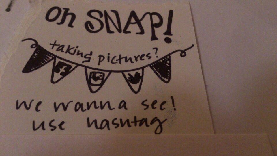 Cute instagram wedding hashtag ideas