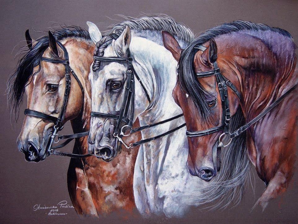 Картинки с тройками лошадей роспись красивые, днем рождения