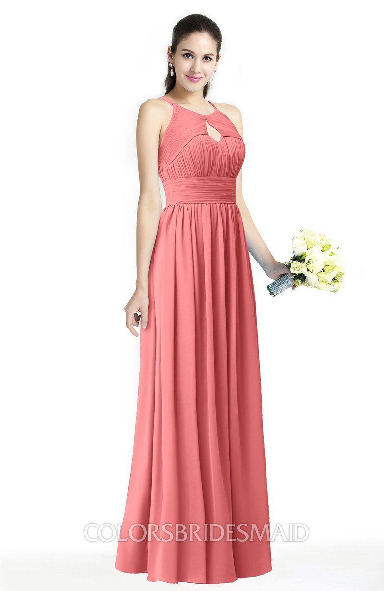 94ded37e9ecd ColsBM Cherish Traditional A-line Jewel Sleeveless Zipper Sash Bridesmaid  Dresses #colsbm #bridesmaids #bridesmaiddress #weddings .