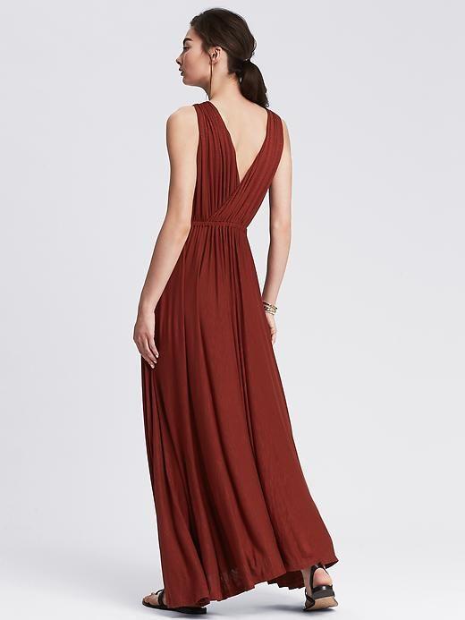 Knit V-Neck Patio Dress Product Image