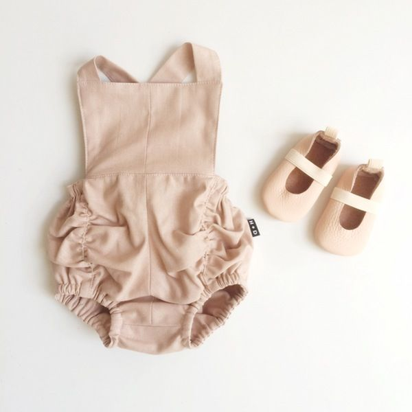 Image of Dusty Pink Romper - (PREORDER to ship 21st Sept)