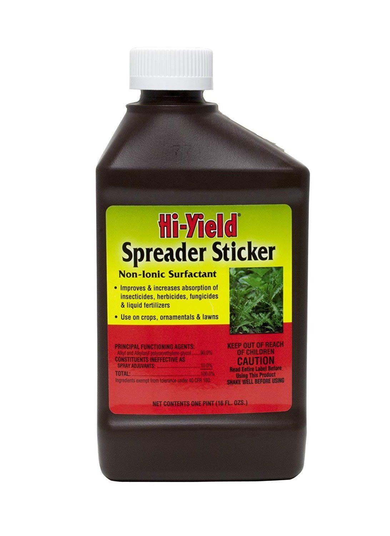 Hi Yield 31062 Concentrate Spreader Sticker 16 Oz In 2021 Spreader Fungicide Foliar Spray