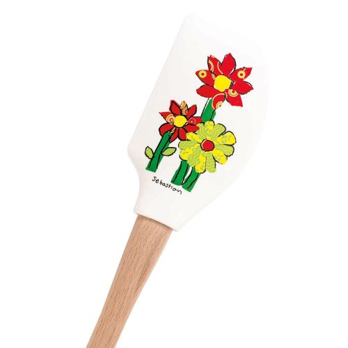 Calico Daisies Spatula, Children's Art Project