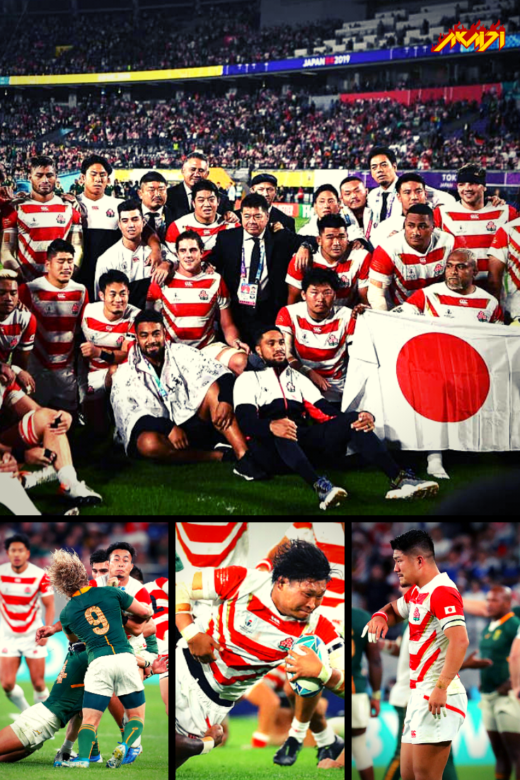 Team Japan lost against South Africa in the quarterfinals