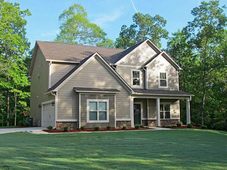 The Snapdragon Lagrange Ga Siding Color Is Sherwin Williams Sw2855 Sycamore Tan Sha House Paint Exterior Exterior Paint Color Combinations House Exterior