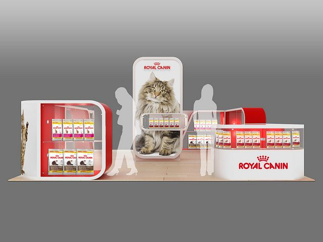 Royal Canin Mall Activation Unit Front View Event Branding