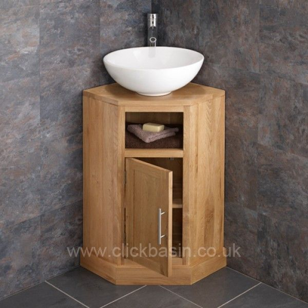 Moveable Solid Wood Ceramic Buffet Kitchen Sink Cabinet: Prato Counter Mounted Ceramic Corner Wash Basin Sink