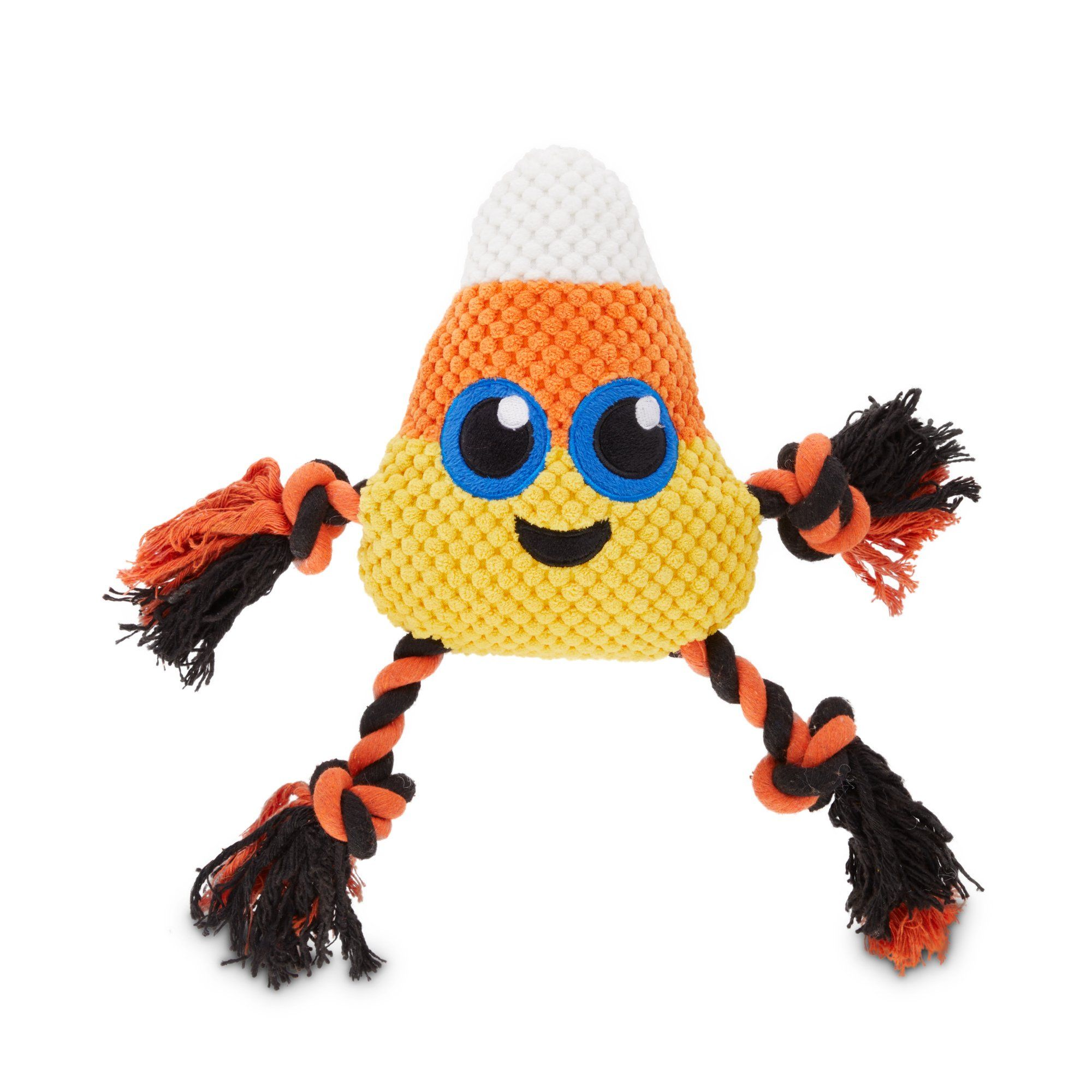 Bootique Candy Corn Plush And Rope Dog Toy Medium Dog Toys Candy Corn Dog Hacks