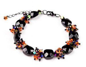Few beaded bracelet patterns have as much pop and personality as this Meteor Shower Bracelet. Beaded jewelry doesn't have to be boring to be easy to make, as this festive project shows.