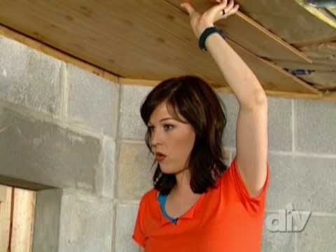 Super Simple Laminate Ceiling Diy Youtube Diy Ceiling Wood Ceilings Ceiling