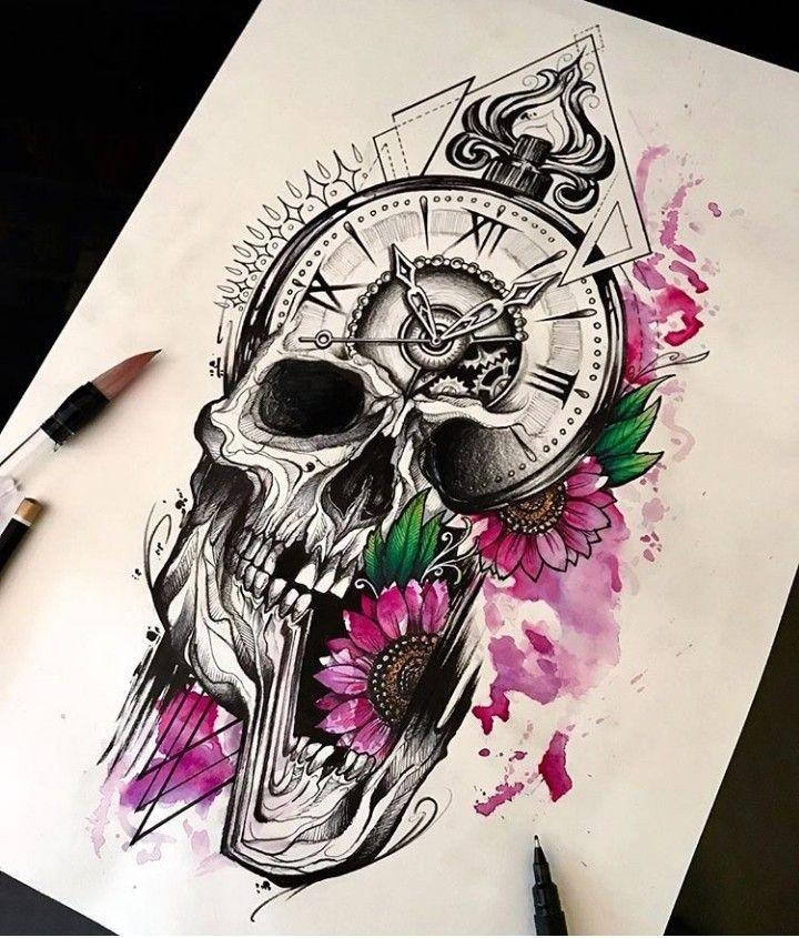 Pin By Juani Quinones On Tattoo Tattoo Design Drawings Art Tattoo Evil Skull Tattoo