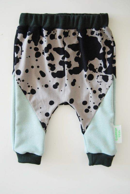 geometric baby pants AW14BP08 | NEW | SLOPPOP YEAH { kidswear, home and gifts}