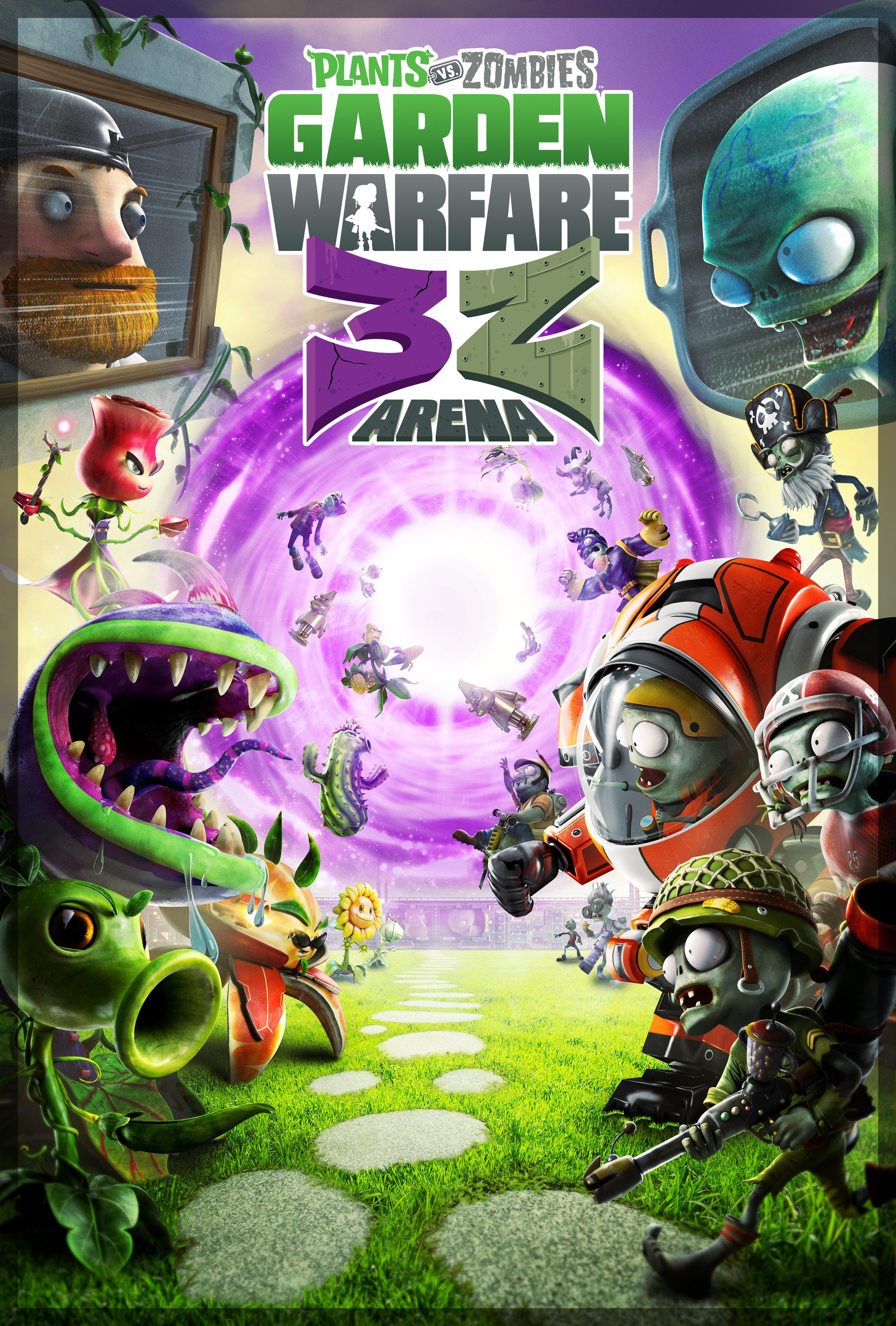 Plants vs Zombies Garden Warfare 3Z Arena Plants vs Zombies