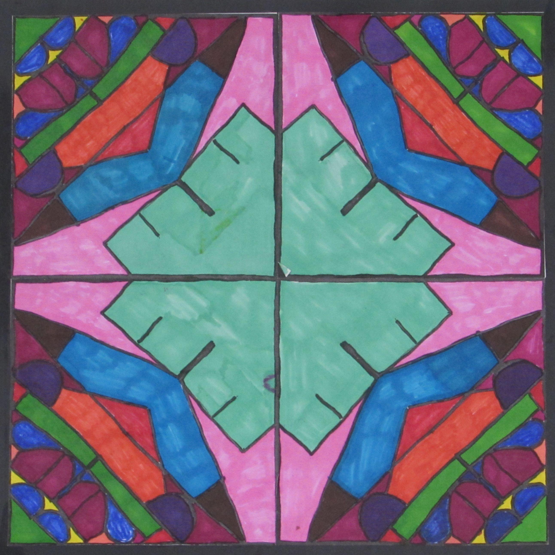 Radial Name Designs Kaleidoscope Names