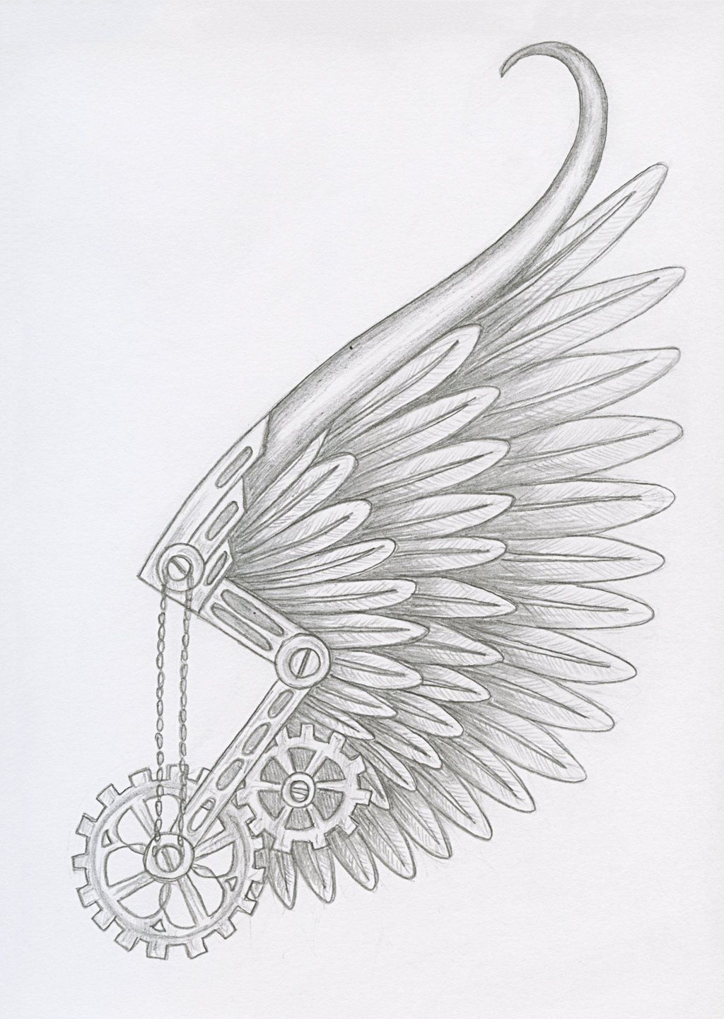 Steampunk Icarus By Pixirivetsviantart On