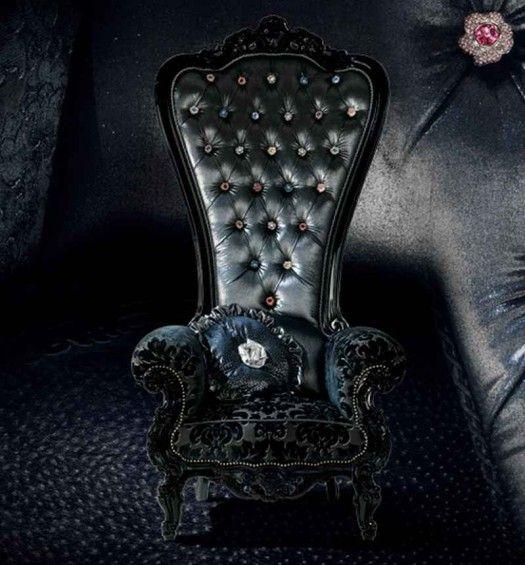 Superior Luxury Armchair, Regal Armchair Throne By Caspani Idea