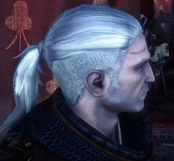 Geralt S Hair In This Scene Is The Dream Hair Styles