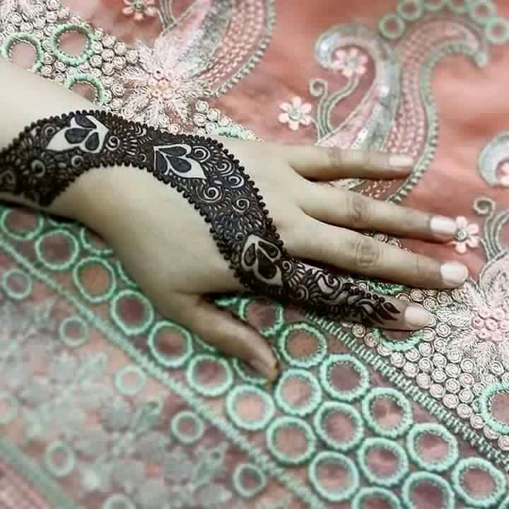 bridal mehndi simple arabic mehndi design images photos
