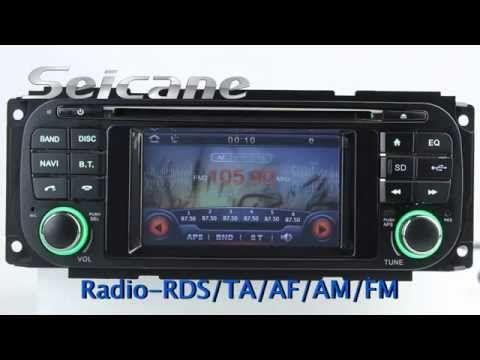 1999 2000 2001 2004 Jeep Grand Cherokee Head Unit Auto A V Dvd Radio Gps Navigation Bluetooth Music Tv Tuner Steering Wheel Gps Navigation Car Head Units Radio