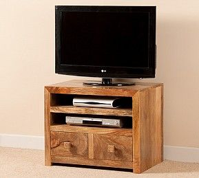 Superb Satara Light Mango Small TV Unit. Tv Stand For BedroomSmall ...