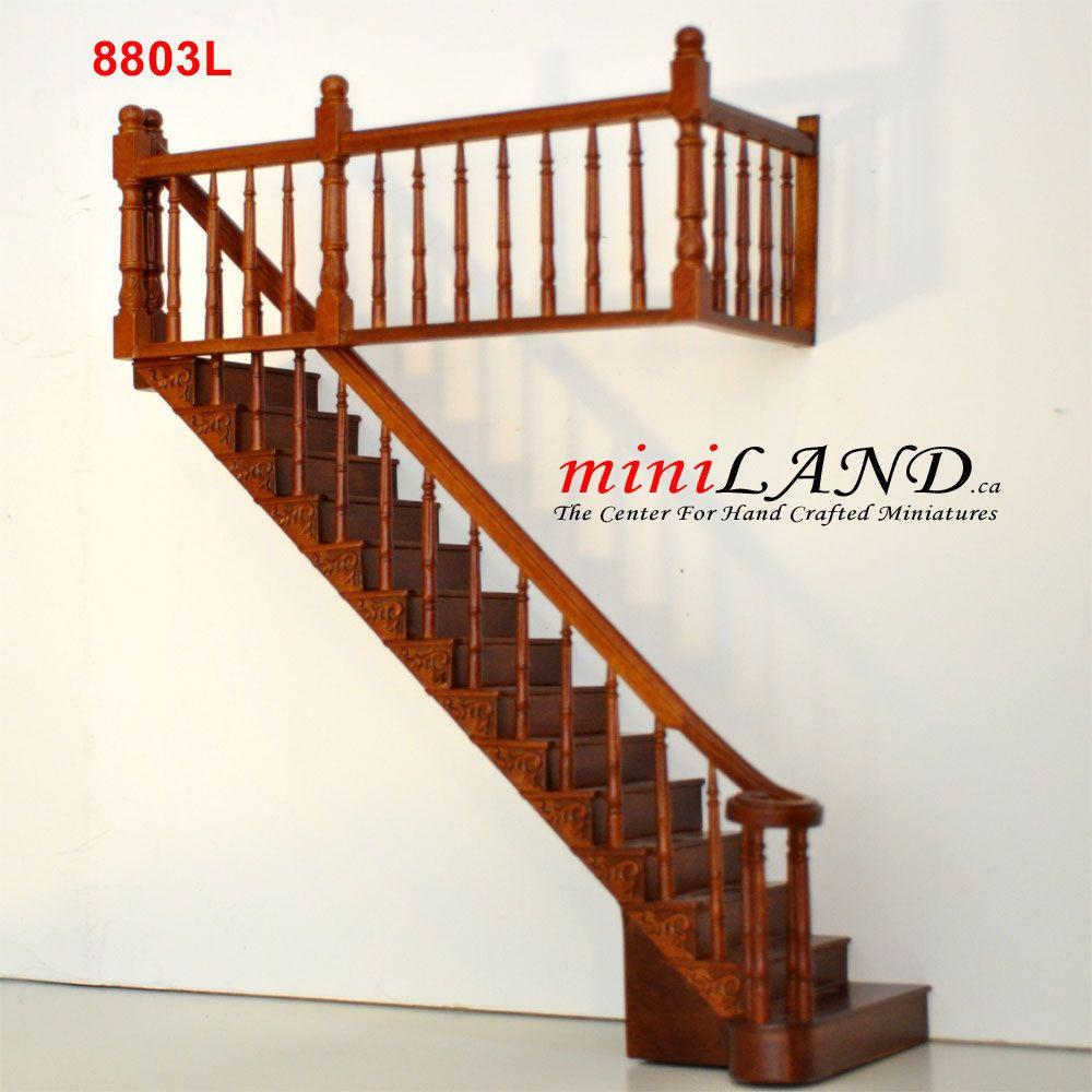 Dollhouse Miniature Stair and Porch Hand Rail