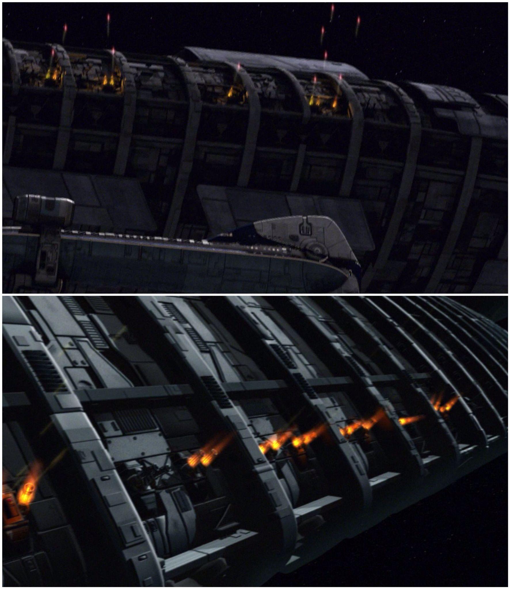 Colonial Movers Battlestar Galactica Spacecraft Kiln Dry ...  |Battlestar Galactica Spacecraft