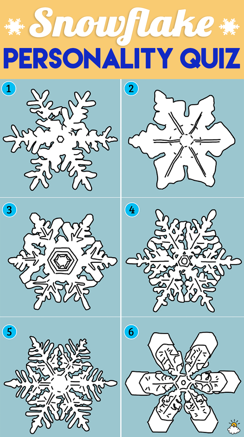 The Snowflake You\'re Drawn To Reveals Secrets About Your Personality ...